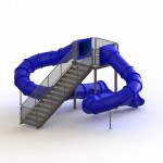 "135150 ULTIMATE SLIDE 8'- 8"" - DOUBLE FLUME"