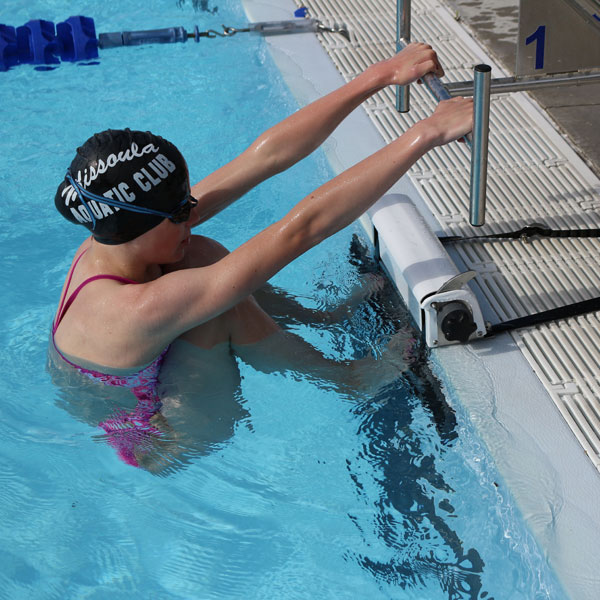 Backstroke Start Device With Strap Spectrum Products
