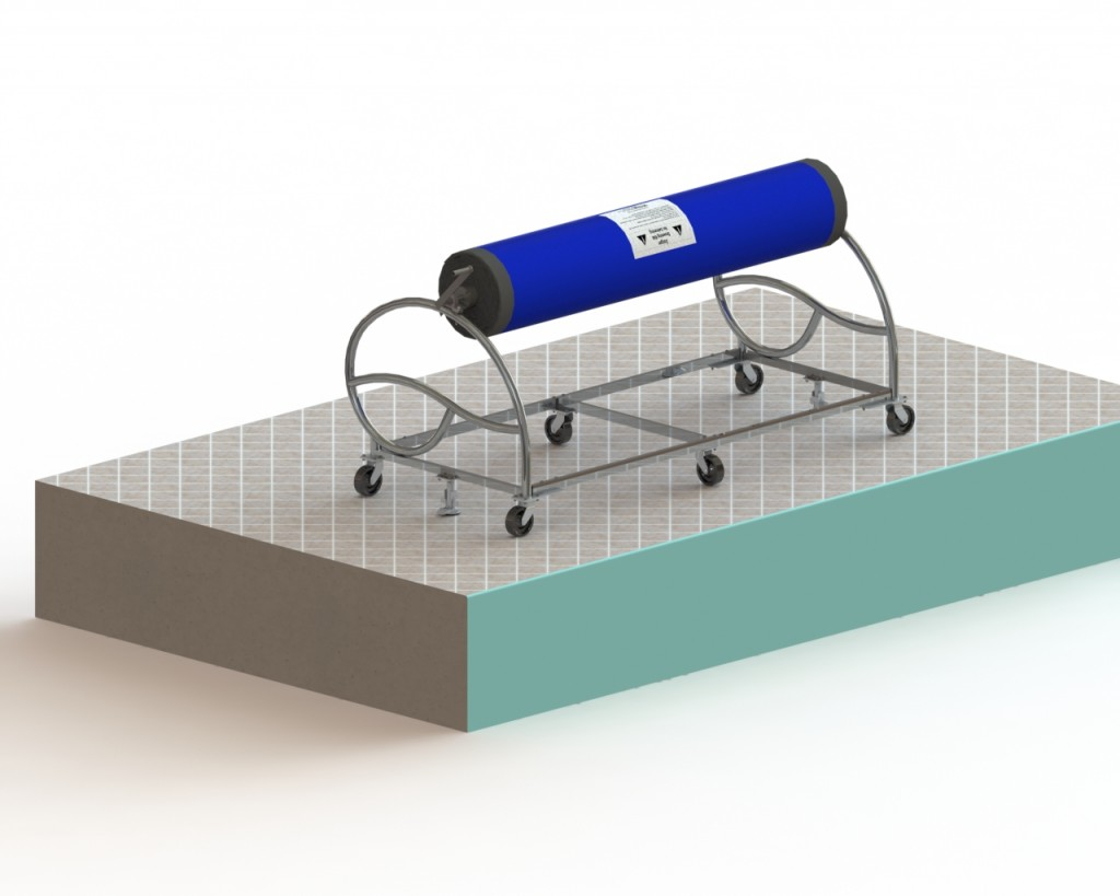 pool cover winder
