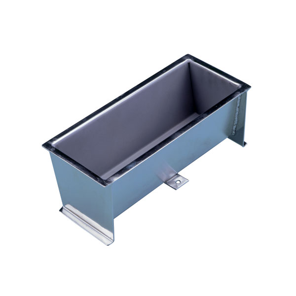 recessed stainless steel step