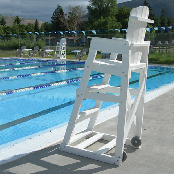 Portable Pool Handrails : Mendota lifeguard chair recycled spectrum products
