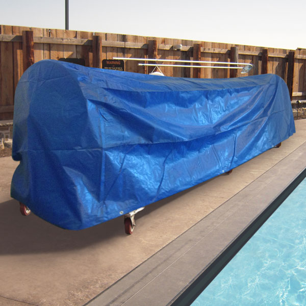 pool cover winder cover