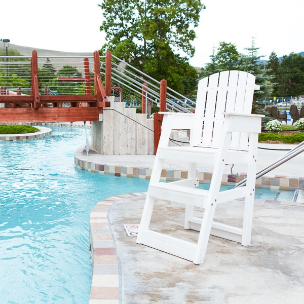 30u2033 Mendota Portable Lifeguard Chairs Are Made Of Recycled High Density  Polyethylene Material With Colorants And UV Inhibitors That Is Resistant To  Rotting, ...