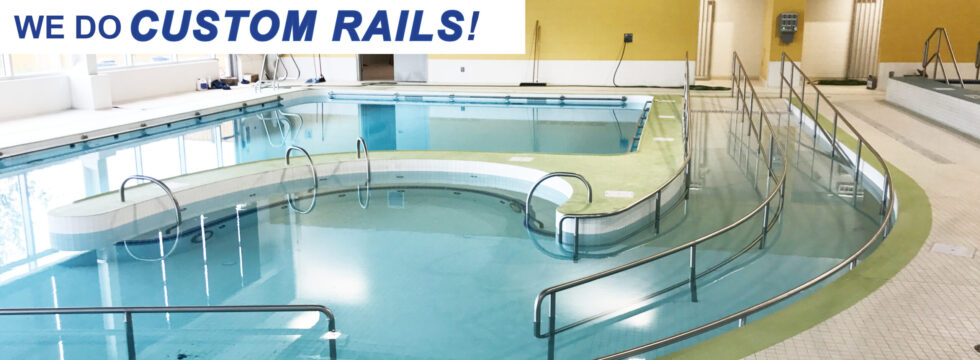 Spectrum Aquatics Custom Rails for aquatic facilities