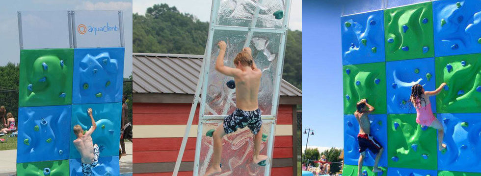 AquaClimb Classic Plus Pool Climbing Wall