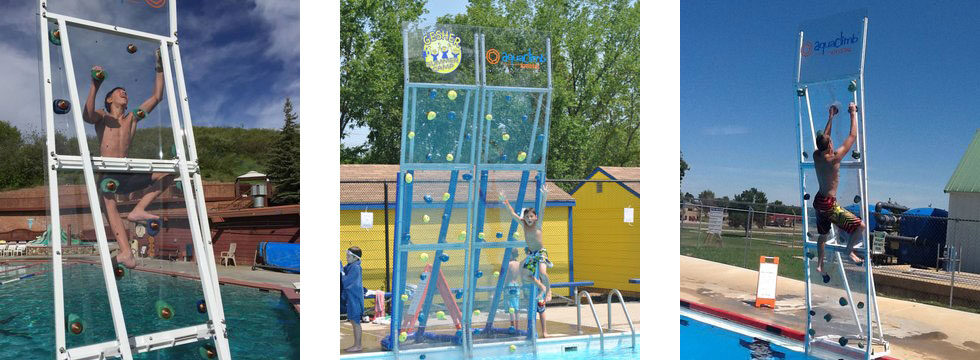 AquaClimb Classic Pool Climbing Walls
