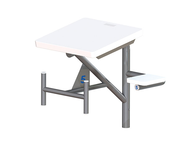 grizzly starting platform for swimming