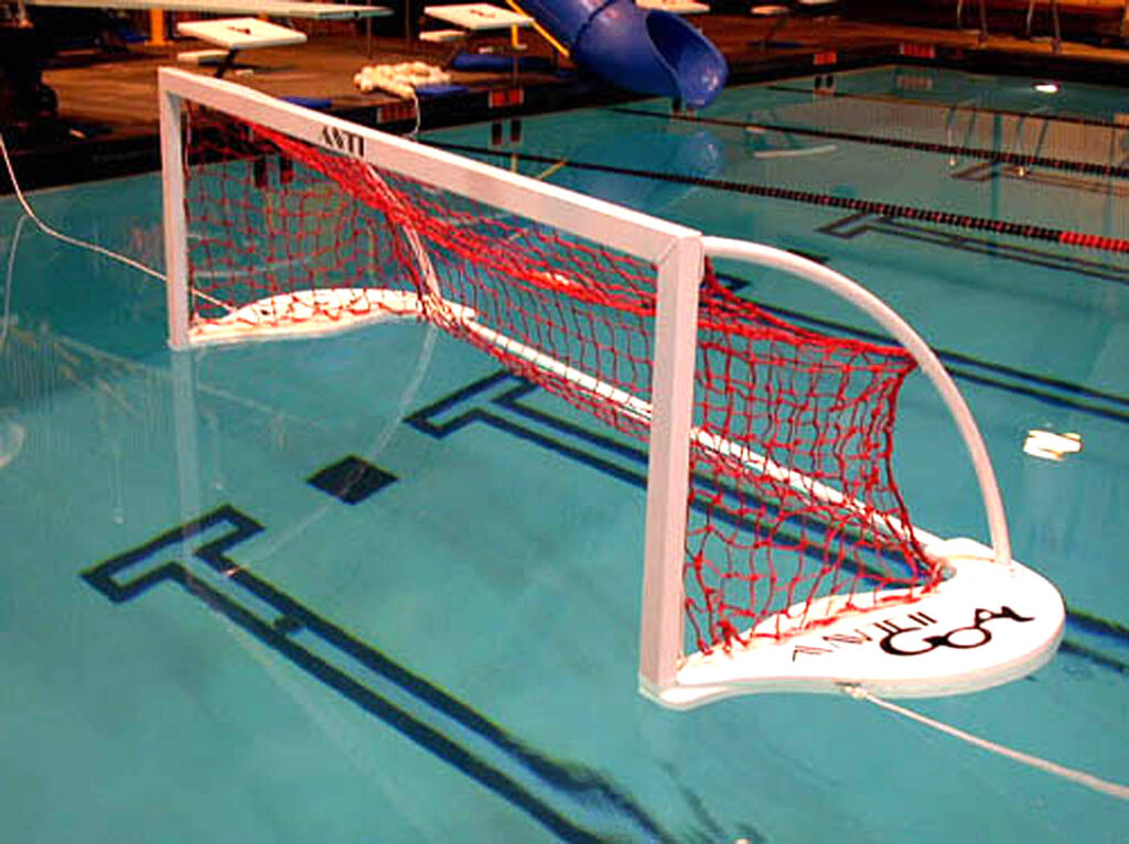 floating water polo goal